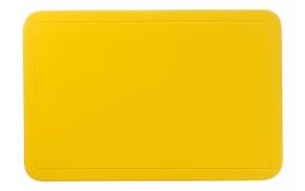 Tischset Uni in gelb, 28.5 x 43.5 cm