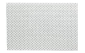 Tischset Plato in weiß, 45 x 30 cm