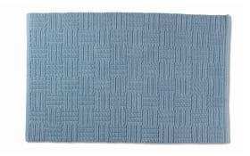 Badematte Leana in frostblau, 55 x 65 cm