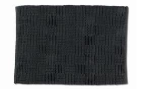 Badematte Leana in granitgrau, 55 x 65 cm
