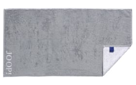 Duschtuch Classic Doubleface in silber, 80 x 150 cm