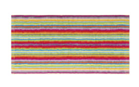 Saunatuch Lifestyle Streifen in multicolor hell, 70 x 180 cm