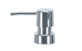 Spenderpumpe Easy Ersatz in silber, 6,9 x 16,5 cm