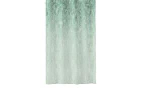 Duschvorhang Cascada in smaragd, 180 x 200 cm