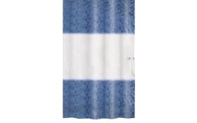 Duschvorhang Ray in dunkelblau, 180 x 200 cm