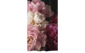 Duschvorhang Rosemarie in bordeaux, 180 x 200 cm