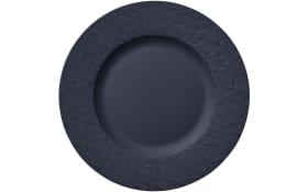 Frühstücksteller Manufacture Rock in schwarz, 22 cm