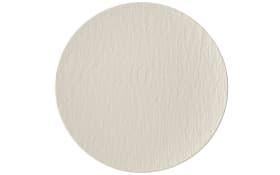 Universalteller Manufacture Rock Blanc in weiß, 25 cm