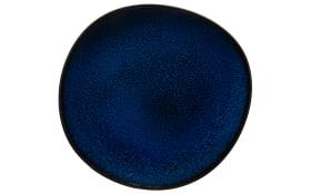 Frühstücksteller Lave Bleu in blau, 24 cm