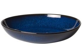 Schale flach klein Lave Bleu in blau, 22 cm