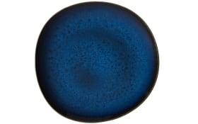 Speiseteller Lave Bleu in blau, 28 cm
