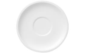 Kaffeeuntertasse Artesano Original in weiß, 16 cm