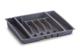 Besteckkasten ausziehbar in grau