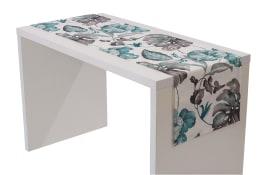 Tischläufer Passion in aqua, 40 x 150 cm