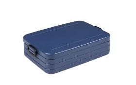 Lunchbox Take a Break in nordic denim, 25,5 x 17 cm