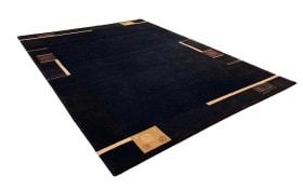 Nepalteppich Romina in schwarz, 200 x 300 cm