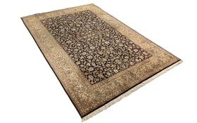 Teppich aus Seide in braun