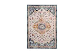 Teppich Anouk 1025 in weiß/blau, 120 x 170 cm