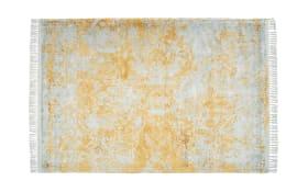 Teppich Dolce Vita 325 in grau/gold, 80 x 150 cm
