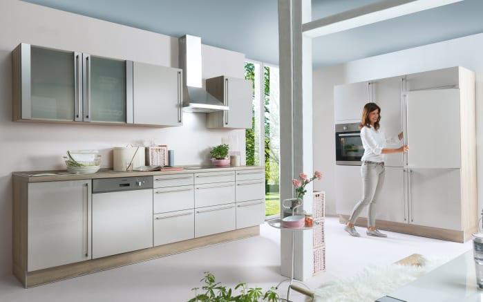Einbauküche Fresh in kaschmir, AEG Geschirrspüler