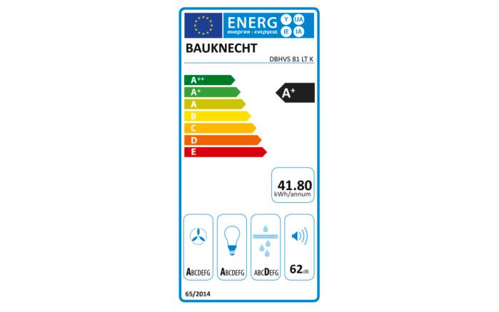 Einbauküche Flash in Lacklaminat Hochglanz weiß, Bauknecht Geschirrspüler BCBO3T333DLI