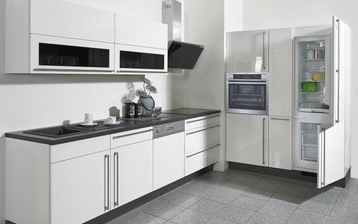 Einbauküche Flash in Lacklaminat Hochglanz weiß online bei HARDECK ...