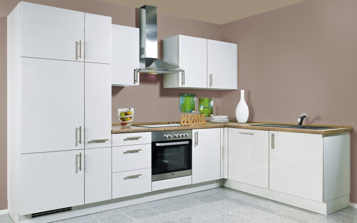 Einbauküche Flash in grau, AEG-Geschirrspüler