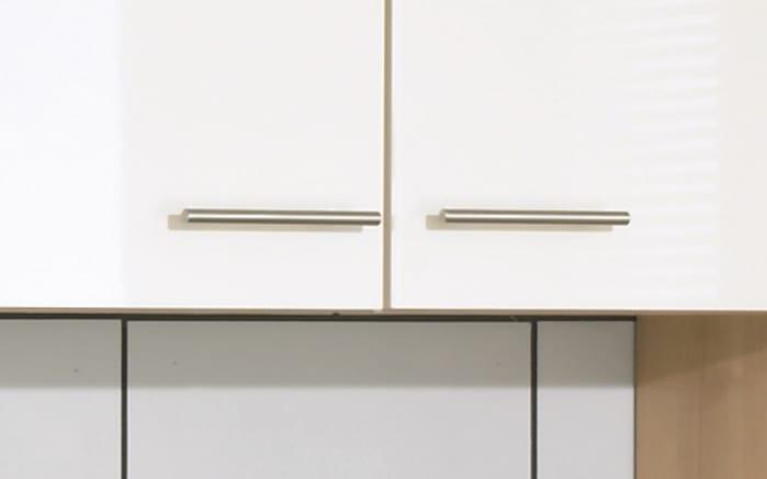 Einbauküche Focus, Lack magnolia Hochglanz, inklusive AEG Elektrogeräte-03