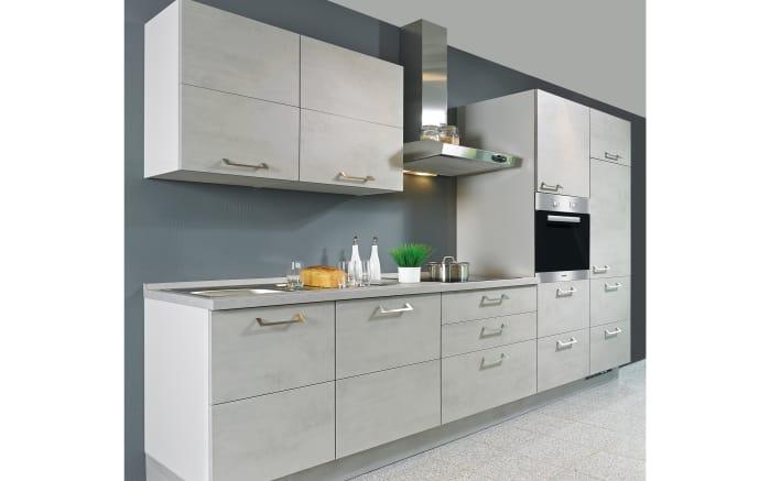 Einbauküche Riva in grau