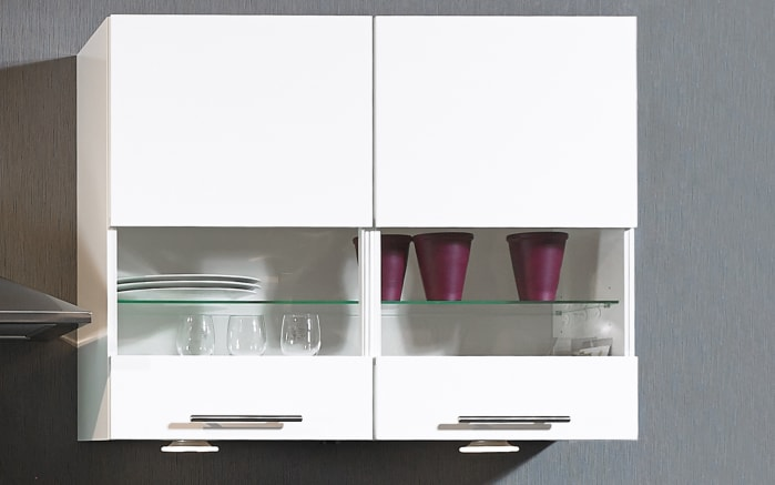 Einbauküche Focus, Lack weiß Ultra-Hochglanz, inklusive Elektrogeräte-02