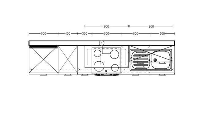 Einbauküche Focus, Lack weiß Ultra-Hochglanz, inklusive Elektrogeräte-05