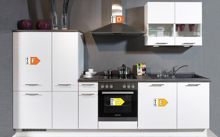 Einbauküche Focus, Lack weiß Ultra-Hochglanz, inklusive Elektrogeräte-03