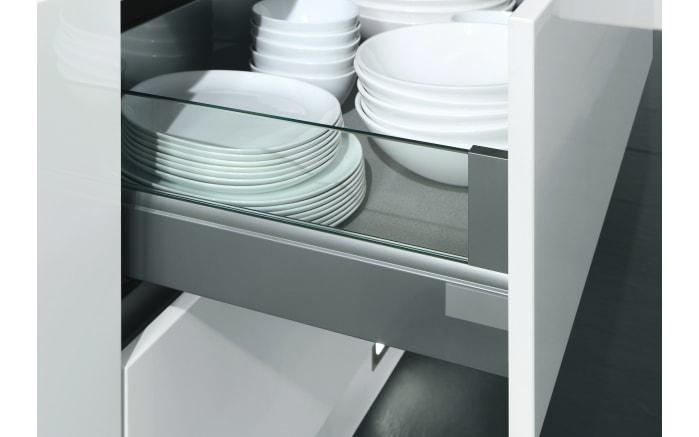 Einbauküche Touch, Lacklaminat weiß supermatt, inklusive Elektrogeräte-04