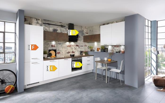 Einbauküche Touch, Lacklaminat alpinweiß supermatt, inklusive Elektrogeräte, inklusive AEG Geschirrspüler-06