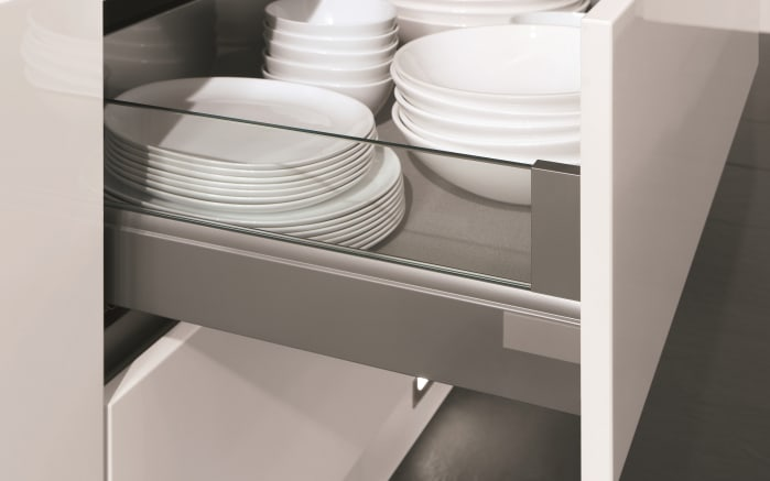 Einbauküche Touch, Lacklaminat alpinweiß supermatt, inklusive Elektrogeräte, inklusive AEG Geschirrspüler-04