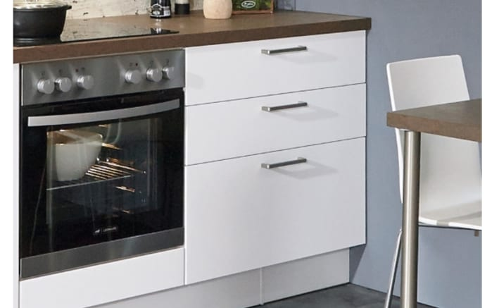 Einbauküche Touch, Lacklaminat alpinweiß supermatt, inklusive Elektrogeräte, inklusive AEG Geschirrspüler-03