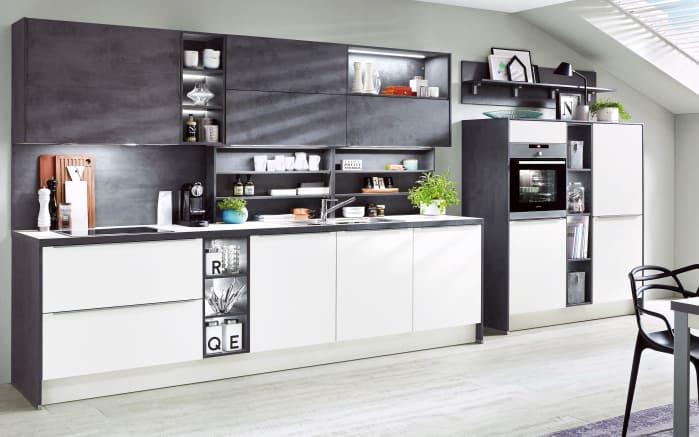 Einbauküche Laser in weiß