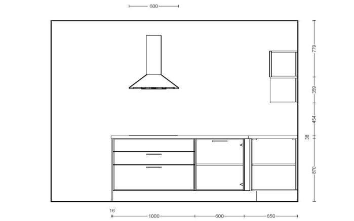 Einbauküche Structura, Halifax Eiche Nachbildung, inklusive Elektrogeräte, inklusive Siemens Geschirrspüler-09