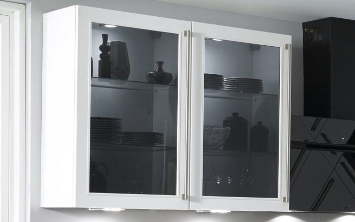 Einbauküche Flash, Lacklaminat Hochglanz weiß, inklusive Elektrogeräte-02