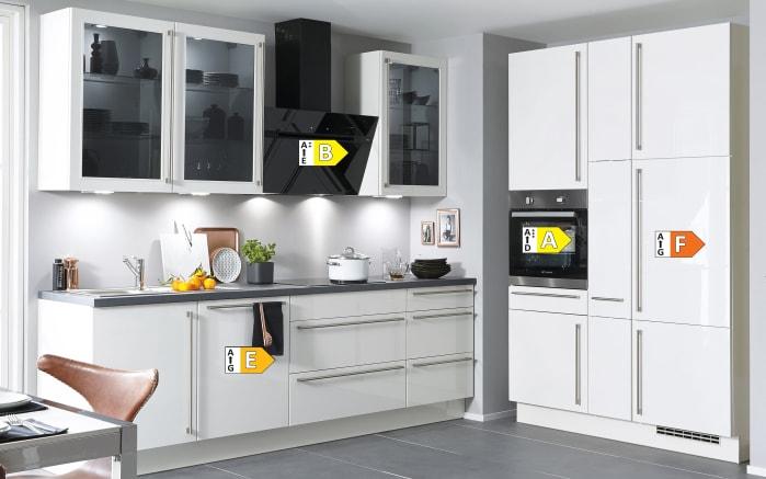 Einbauküche Flash, Lacklaminat Hochglanz weiß, inklusive Elektrogeräte-05
