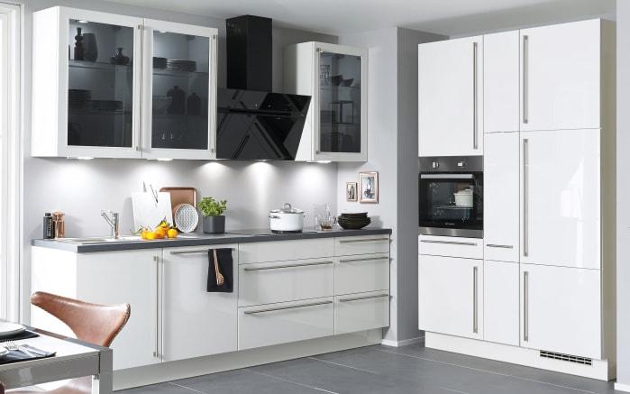 Einbauküche Flash in weiß, Neff-Geschirrspüler