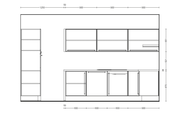Einbauküche Structura in Halifax-Eiche-Optik, Siemens-Geschirrspüler