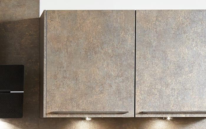 Einbauküche Touch, Lacklaminat supermatt schwarz, inklusive Elektrogeräte-02