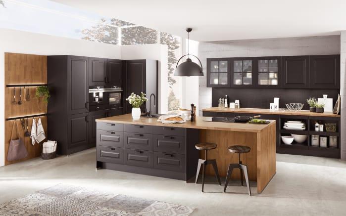 einbauk che sylt in schwarz miele geschirrsp ler online bei hardeck kaufen. Black Bedroom Furniture Sets. Home Design Ideas