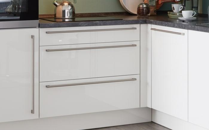 Einbauküche Flash, Lacklaminat Hochglanz weiß, inklusive Elektrogeräte-03