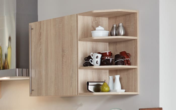 Einbauküche Flash, Hochglanz Lacklaminat magnolia, inklusive Elektrogeräte-04
