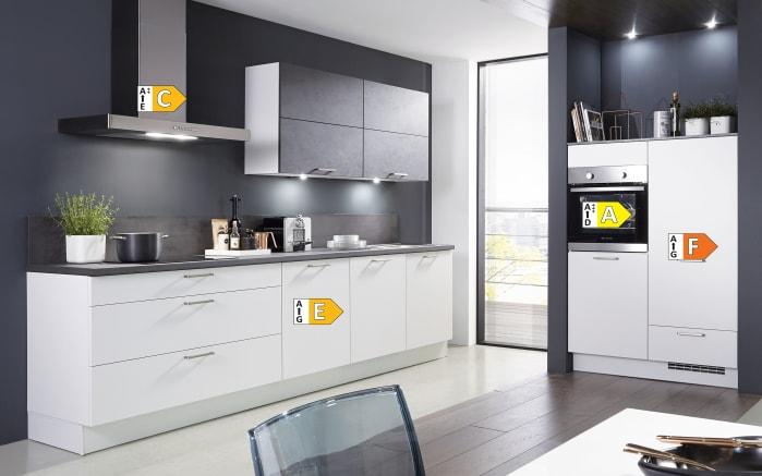 Einbauküche Fashion 168, alpinweiß matt Lack, inklusive Elektrogeräte, inklusive Neff Geschirrspüler-05