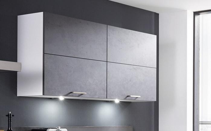Einbauküche Fashion 168, alpinweiß matt Lack, inklusive Elektrogeräte, inklusive Neff Geschirrspüler-02