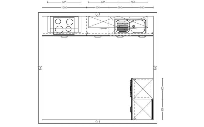 Einbauküche Fashion 168, alpinweiß matt Lack, inklusive Elektrogeräte-08