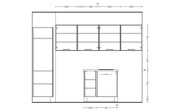 Einbauküche Touch in seidengrau, Junker Geschirrspüler JS03VN90